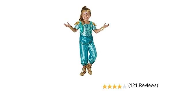 Shimmer & Shine - Disfraz de Shine para niña, infantil 1-2 años ...