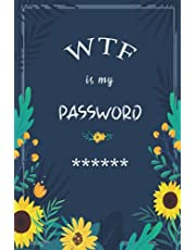 Password Book: Internet Password Organizer, Password Book with alphabetical Tabs, Logbook to protect Passwords, Usernames, Web Addresses, secret Questions, All login data infos