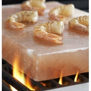 Himalayan Crystal Salt Tile 8x8x2 for Grilling on BBQ imported by Pure Salt by Himalayan Salt Solution