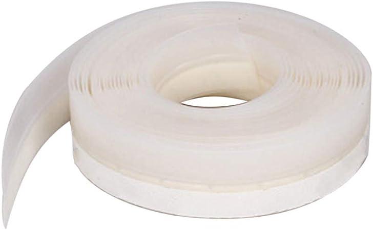 Tiras de sellado deslizantes de 45 mm para puerta burlete de burlete de puerta sin marco ventana puerta corredera sellos de goma de silicona 45 mm Half Transparent: Amazon.es: Hogar