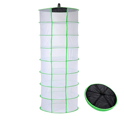 BoHoFarm Drying Rack Herb Drying Net Herb Dryer W/Carry Bag