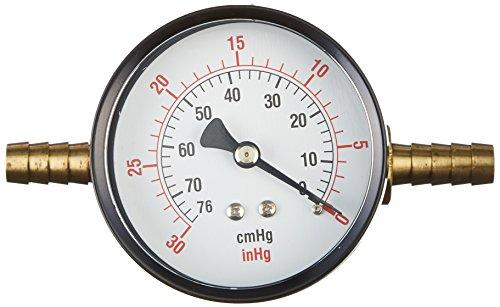 Fischer Technical Company HVG-002 Analog Vacuum Gauge, 0-30
