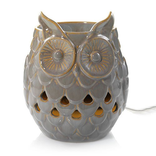 Yankee Candle Shadow Owl with Led And Timer Scenterpiece Easy MeltCup Warmer