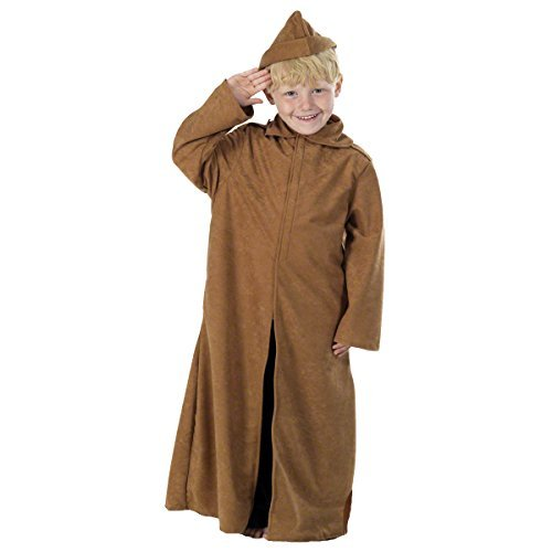 Charlie Crow WW1 Trench Coat Costume 10-12 Years