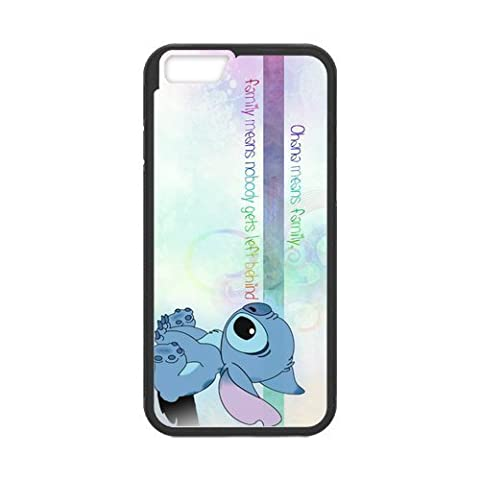 iPhone 6 Case,iPhone 6 (4.7) Case [Lilo & Stitch Ohana] Protective Cover Skin for iPhone 6, Hard Case for iPhone 6 (4.7 (Stitch Cell Phone Case)