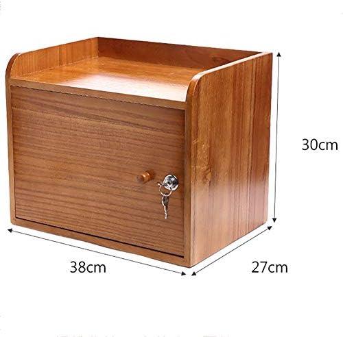 Briefablage Schubladenbox Schubladenschrank Aktenschrank, Büro Schreibtischschrank, Massivholzschloss Einfachen Kreativen Rahmen, Ordnerinformationsständer, Büro Zu Hause