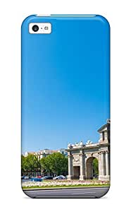 Awesome Puerta De Alcal?? Flip Case With Fashion Design For ipod touch4