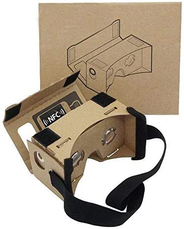 Cardboard Headsets Virtual Comfortable Smartphones product image