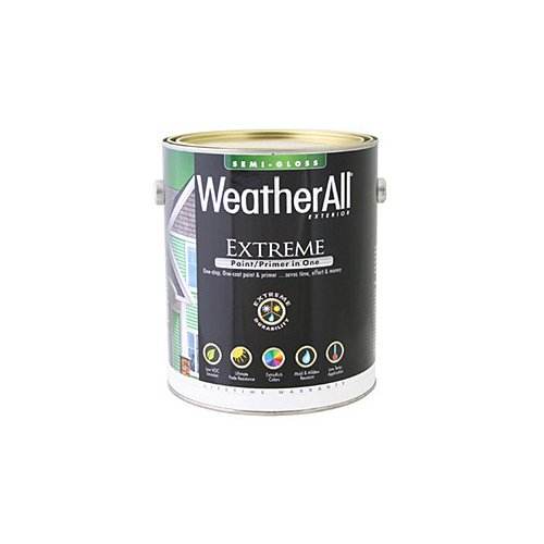 true value mfg company waesgp-gl WAESGP, True Value, Premium Weatherall Extreme, Paint/Primer In One, Gallon, Pastel Base by True Value Hardware