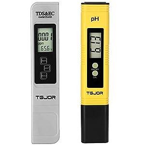 Tester qualità Acqua Rottay TDS PH EC Temperatura 4 in 1 Set/Digitale Misuratore Portabile/Auto-Calibrazione e… 416tEX1T9gL. SS300