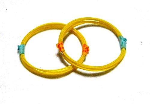 Jiuta Shamisen 1st string, 2-strings pack 14-1 Silk w/import shipping 三味線 地唄 一の糸 2本セット 14-1 絹