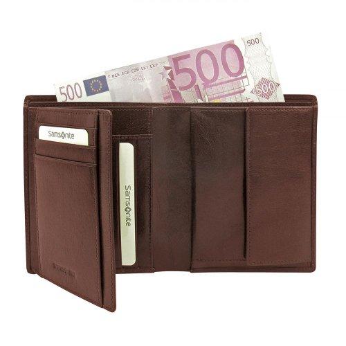 Samsonite Zefiro Geldbörse Leder 10 cm
