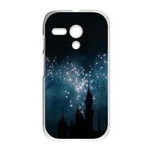 Motorola G Cell Phone Case White_Dream Castle Dream Ojzzw