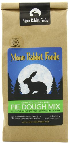 Moon Rabbit Gluten Free Pastry Pie Crust Mix, 16.4-Ounce ()