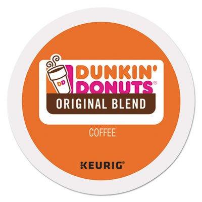 Dunkin Donuts 0845 K-Cup Pods, Original Blend, 24/box