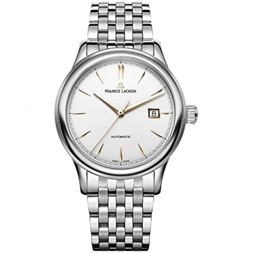 Maurice Lacroix Les Classiques Men's Automatic Stainless Steel Band Watch