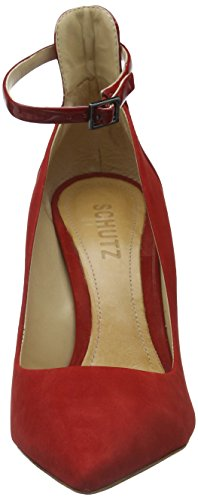 Lady Schutz Donna scarlet Scarpe Rot Col Tacco fnqTOx