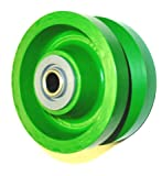 Albion 6' x 2' Polyurethane V-Groove Wheel with 1/2' ID Needle Bearing