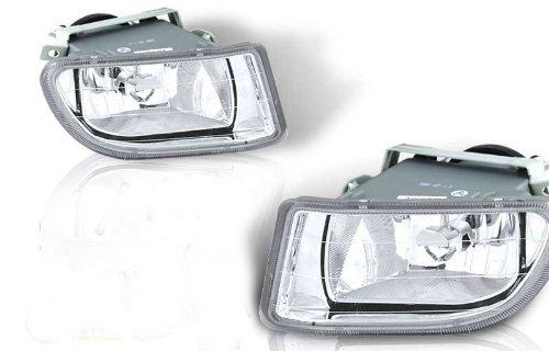 03-04 Honda Odyssey Oem Fog Light - Clear (Wiring Kit Included) (Pair)