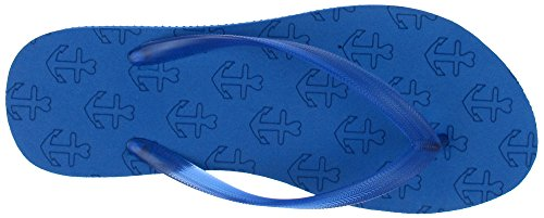 Capelli New York Mesdames Texturé Givré Gelée Flip Flops Bleu