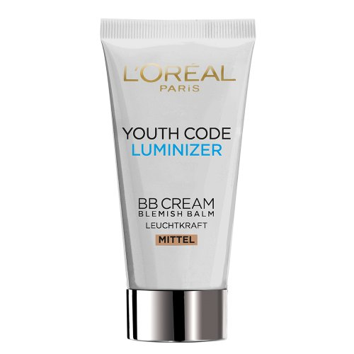 L'Oréal Paris Youth Code Luminizer BB Cream Medium/Dunkel, 50 ml