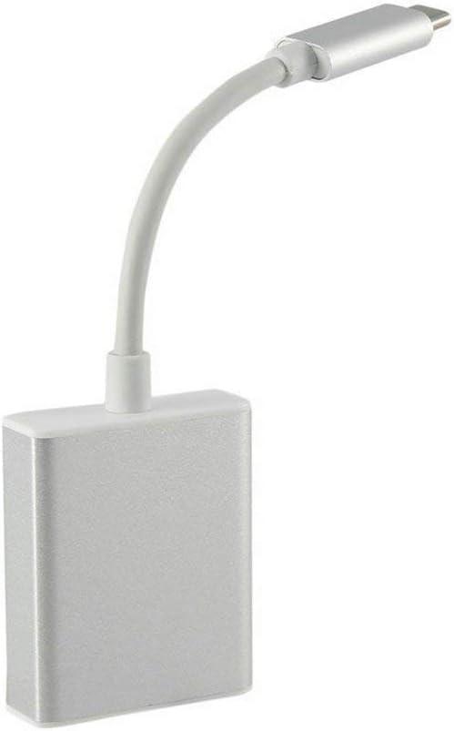 JoyGrace USB 3.1 Type C to Vga Adapter USB-C Male to Vga High Resolution 1080P Female Converter Plug and Play