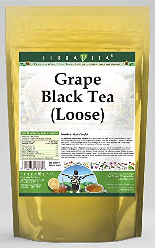 (Grape Black Tea (Loose) (8 oz, ZIN: 540720) - 3 Pack)