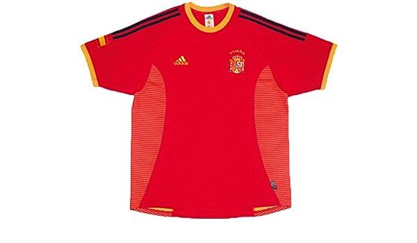 adidas España Camiseta Jersey Spain Espana 2002-2004 Talla XL (X-Grande): Amazon.es: Deportes y aire libre
