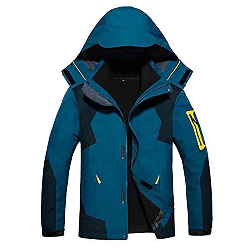 Trekking Hombre Montaña Impermeables Outdoor Hombre Mujer Chaqueta 3 Transpirables azul Wanpul Marino 1 En qta5wPa