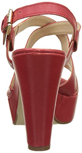 V 1969 - Marcelle_Rosso Sandalias de Vestir Para Mujer Tacón: 10 cm