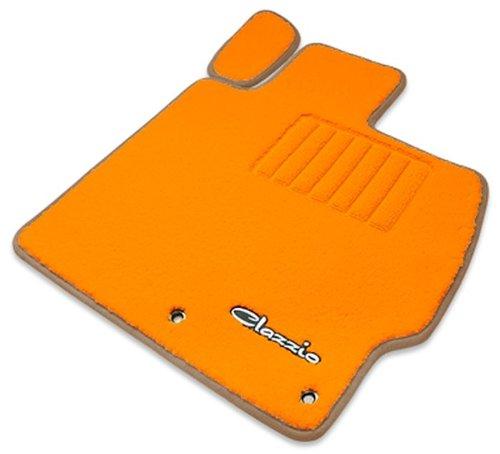 クラッツィオ ( Clazzio ) 【 フロアマット 】 トヨタ カローラ フィールダー NKE165G H25/8~ 【1台分セット】  (オレンジ×オレンジ×ベージュエッジ仕様) ET-1011-Y101-OOB B00SQXSKJ6 ベージュエッジ仕様 ベージュエッジ仕様