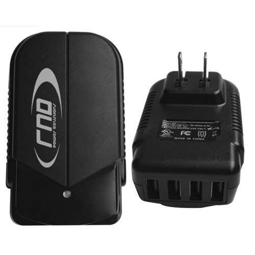 RND 4.2A (fast) 4 Port USB AC Adapter / Wall charger for ...