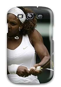 Galaxy S3 Case Cover Skin : Premium High Quality Serena Williams Tennis Case