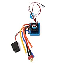 120A ESC Sensored Brushless Speed Controller for 1/8 1/10 Car/Truck Crawler