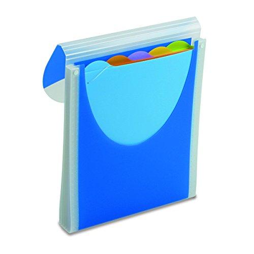 Wilson Jones Big Mouth Filer, Vertical Orientation, Dark Blue (W68583) (Wilson Jones File)