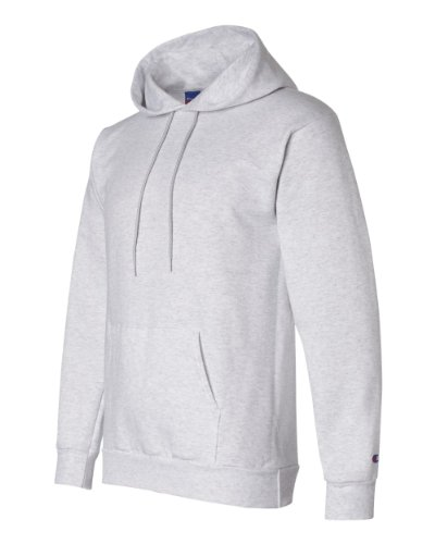 93957001c746 Galleon - Champion S700 Adult Eco Pullover Hooded Fleece - Silver Grey