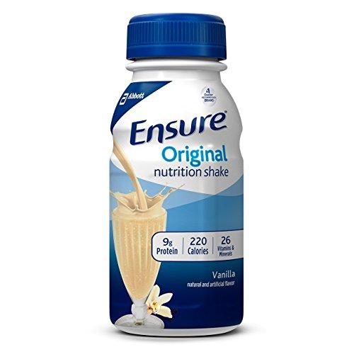 Ensure Original Nutrition Shake, Vanilla, 8 Ounces, 24 Count