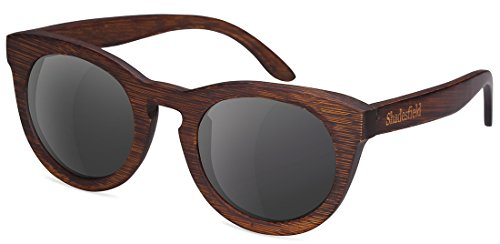 Polarized Wood Sunglasses Wayfarer Style,100% UV - Sunglasses Wayfarer Different Of Types