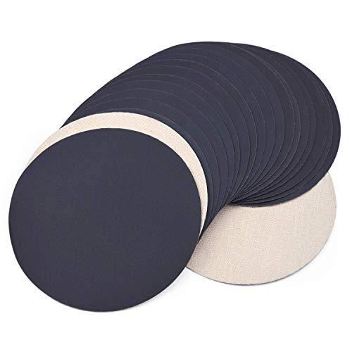 100pcs Hook /& Loop 1 Inch Mixed 100-3000 Grit Sand Paper Sanding Discs Durable