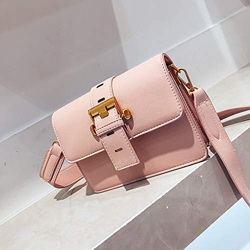 Casual Moda B Wallets C Zlulu Shoulder Women unita Metal The Square Wild Diagonal tinta Handbag Clutches Donna Small q7ffw1I