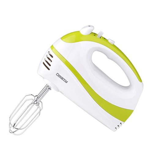 Hand Mixer,Chartsea Electric 5 Speed Handheld Hand Blender Mixer Whisk Beater Cake Baking (A)