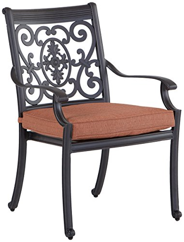 Darlee with Seat Cushions, 64-Inch Square 30-Inch Lazy Antique Bronze Finish