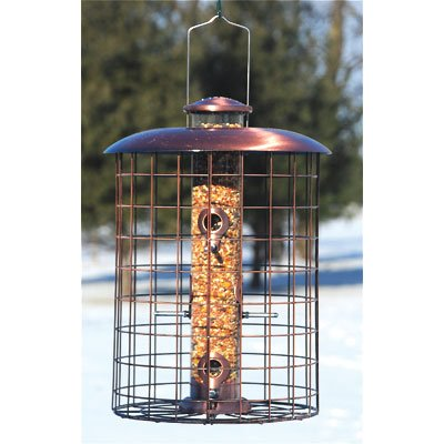 - Wood Link Coppertop Cages Seed Feeder