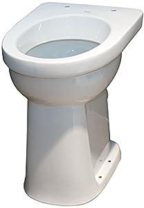 Keramag Allia Paris Care Floor-standing Pedestal Toilet Flat ...