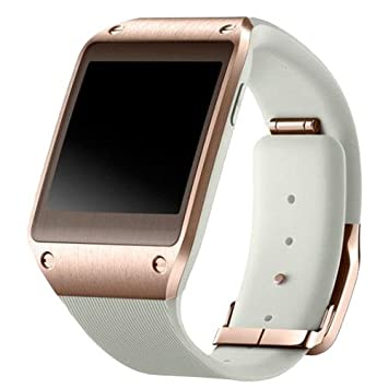 Samsung Galaxy Gear - Smartwatch, Blanco/Bronce: Amazon.es ...