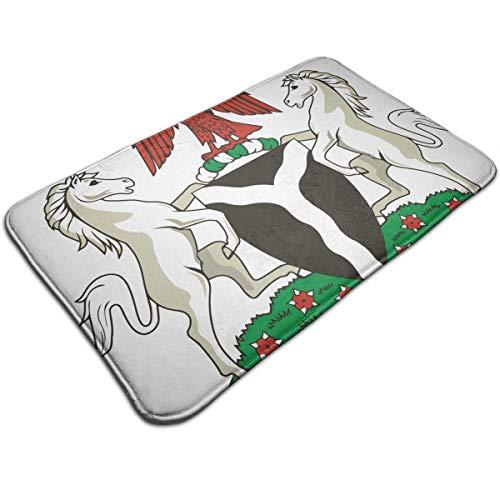 bing Doormats Coat of Arms of Nigeria Carpet Decor for Bathroom Kitchen ()