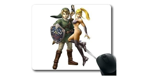 Link y Zero Samus Super traje de Artes Marciales para Bros Game ...