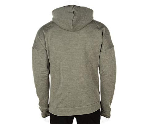 adidas Men's ZNE Hoodie Zne Heather/Trace Cargo Small