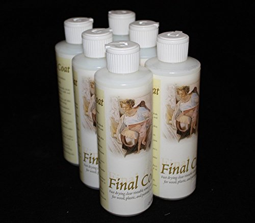 Bulk Buy 6-Pack Semi Gloss 8oz. Final Coat Sealer by Final Coat