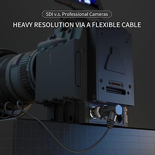 3G HD SDI Kabel BNC Stecker auf Stecker 1M - BNC SDI Video Kabel RG179 75 Ohm für HDMI SDI Splitter, SDI Kamera, DVR CCTV Kamera,SDI Capture Monitor